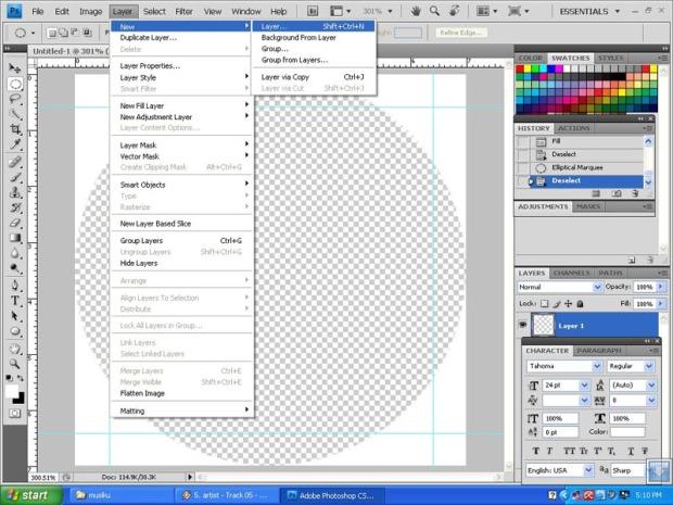 Cukup mudah sebetulnya untuk membuat design PIN, saya mencoba ...